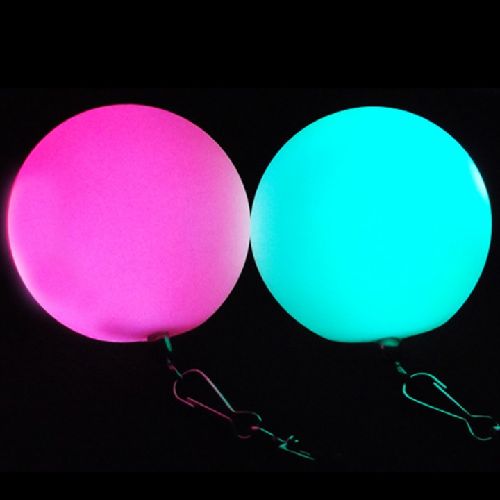Glow Poi Pro with Pink and Blue LED Lights